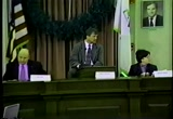 Still frame from: AT&T License Renewal Public Hearing: Customer Service